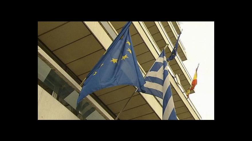 Video Evropa přislíbila Řecku pomoc