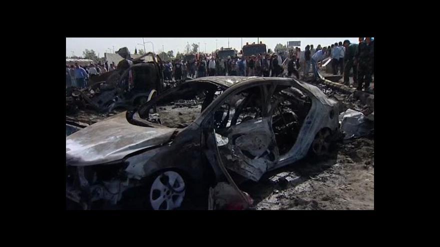 Video V Damašku zabíjely bomby