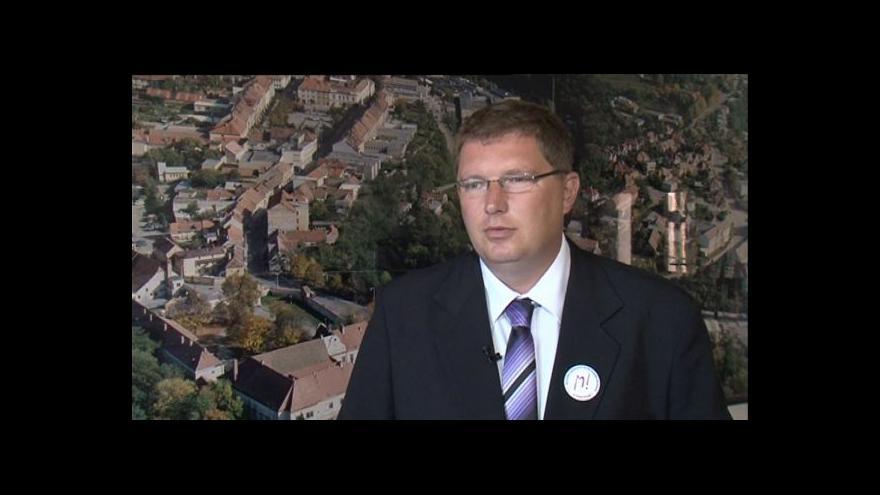 Video Starosta M. Krumlova Tomáš Třetina o plánech na opravu zámku