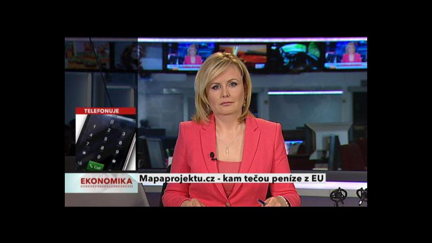 Video Ekonomika ČT24: Rozhovor s Olgou Letáčkovou