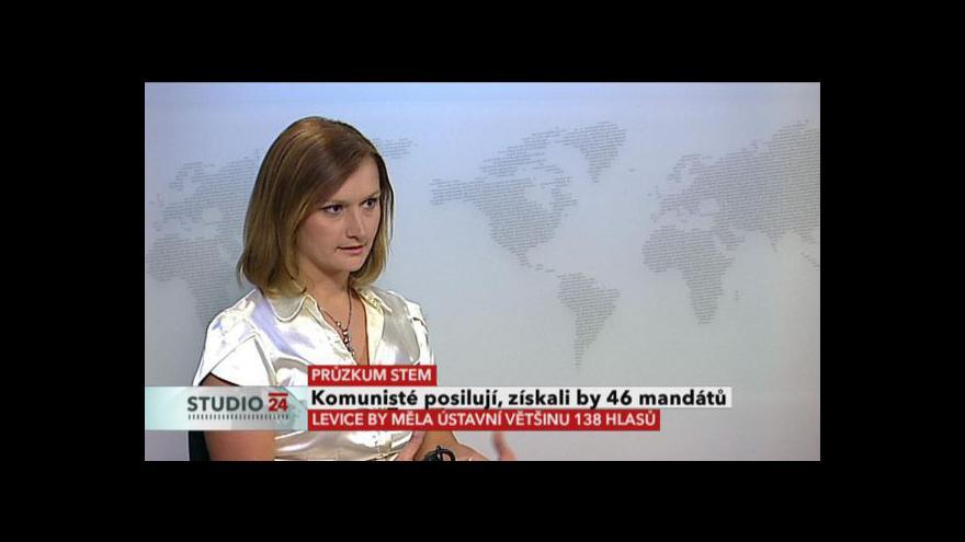 Video Komentář analytičky Martiny Lustigové