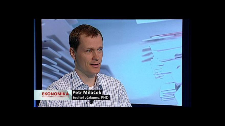 Video Studio ČT24: Rozhovor s Petrem Miláčkem