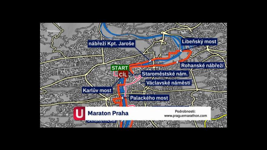 Video Trasa maratonu