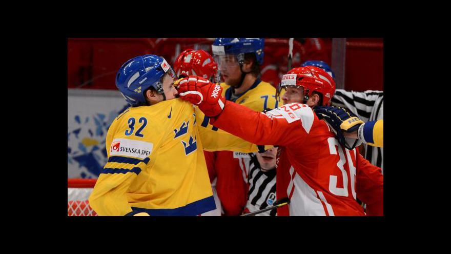 Video Sestřih utkání Dánsko - Švédsko