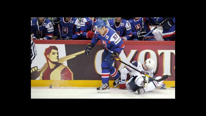 Video Sestřih utkání USA - Slovensko