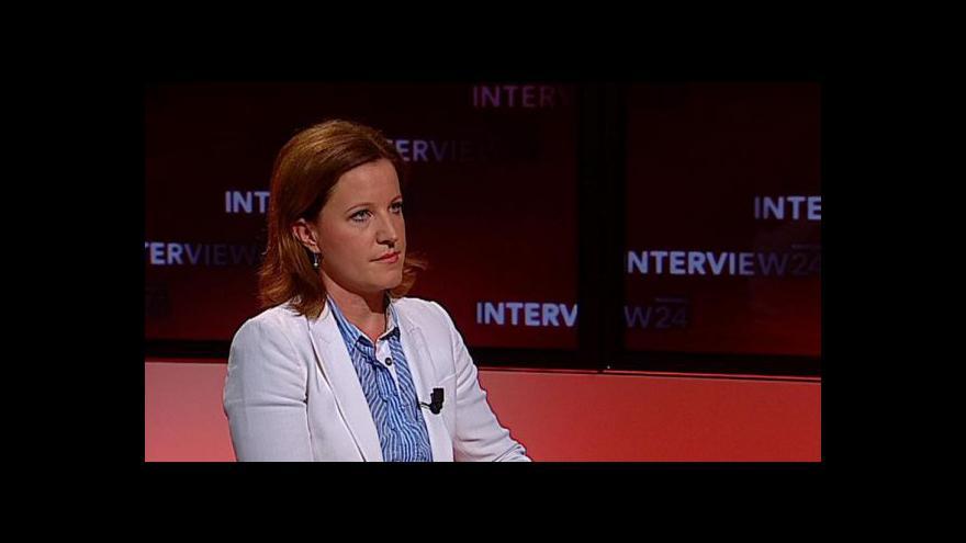 Video Interview ČT24 s Karolínou Peake