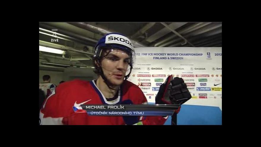 Video Rozhovor s Michaelem Frolíkem
