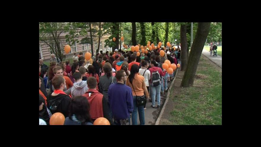 Video NO COMMENT: Studentský majáles ve Znojmě