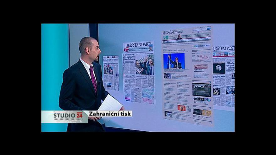 Video Zahraniční tisk s Davidem Miřejovským