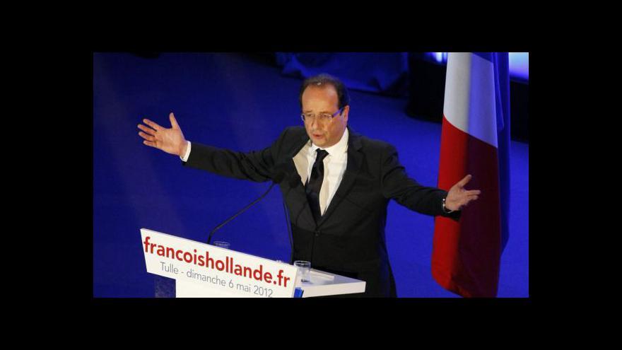 Video Francie zvolila - vítězem je Hollande