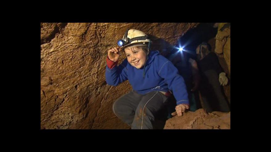Video NO COMMENT: Mimořádná prohlídka Královy jeskyně