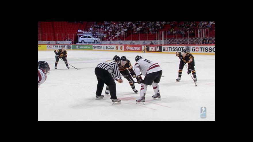 Video Utkání Německo - Lotyšsko