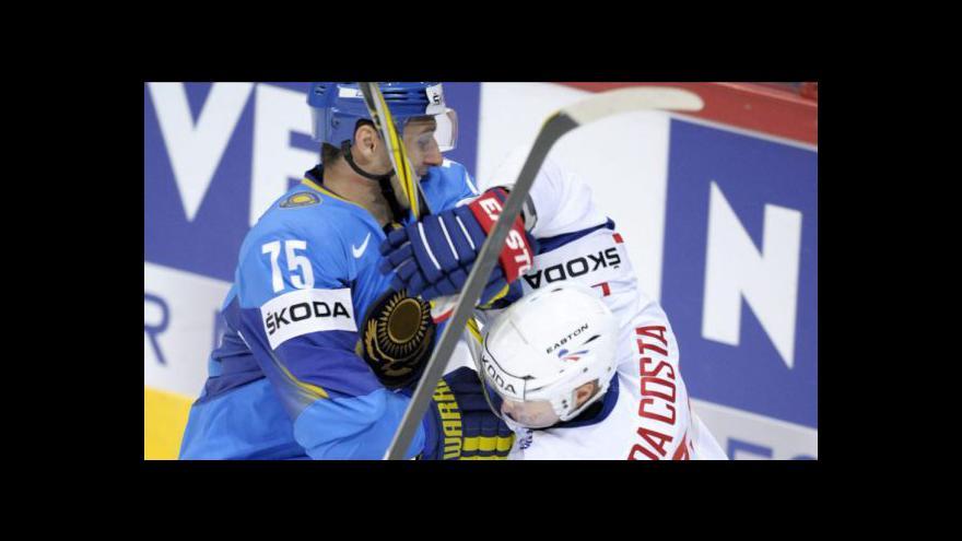 Video Utkání Francie - Kazachstán