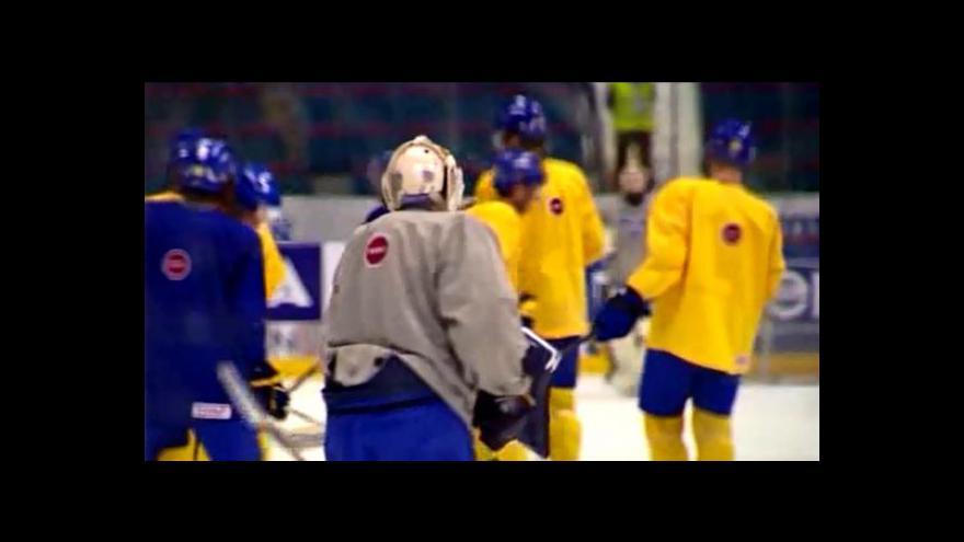 Video Trénink švédského týmu