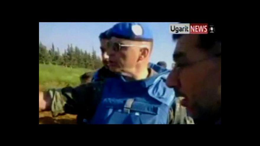 Video Masový hrob v Sýrii