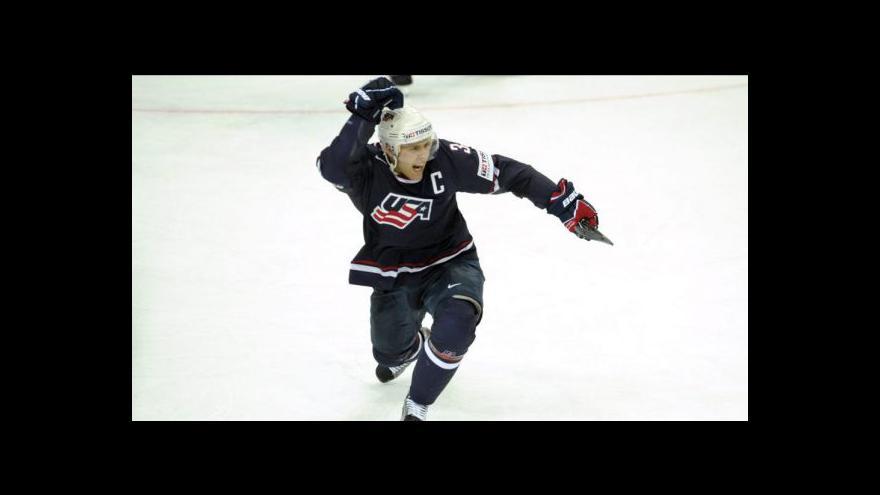 Video Rozuzlení utkání Kanada - USA