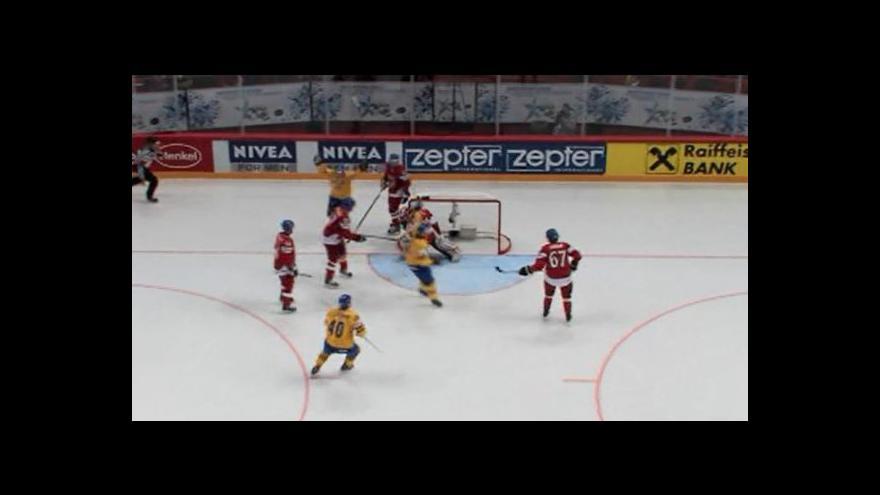 Video Druhý gól Švédů
