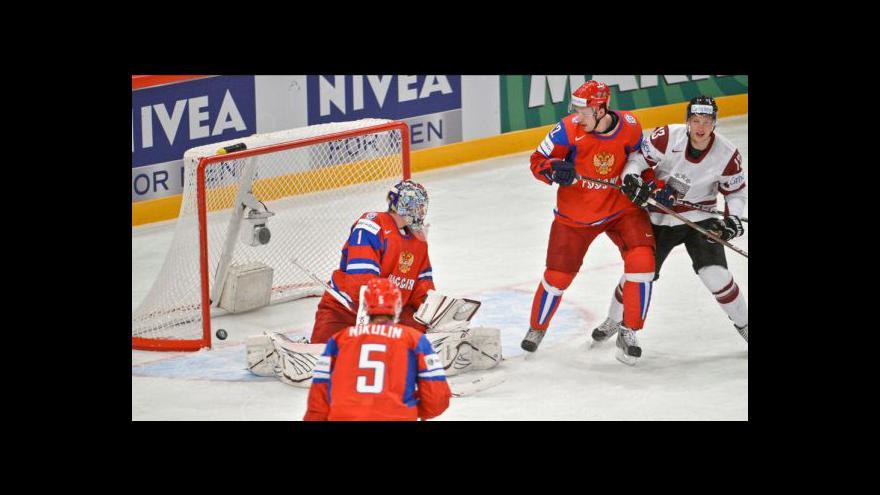 Video Sestřih utkání Lotyšsko - Rusko