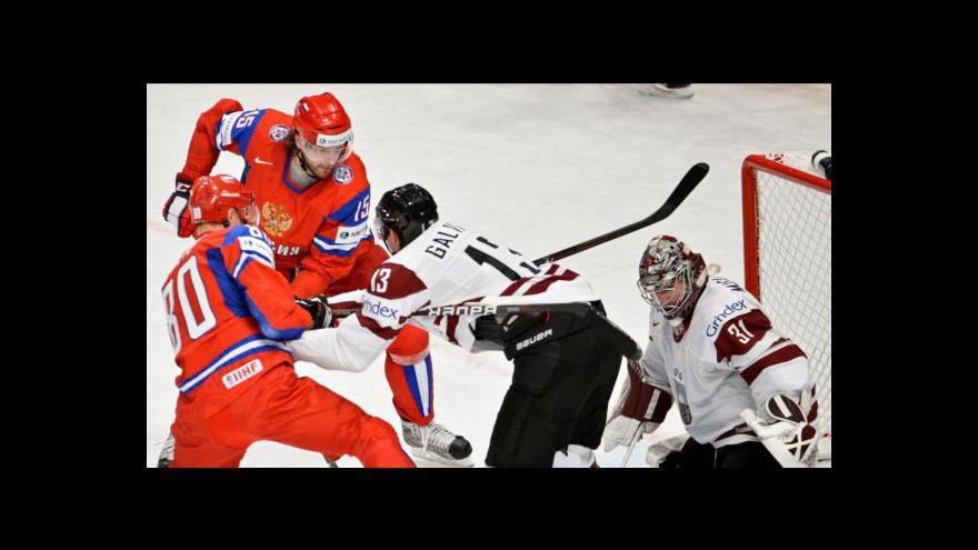 Video Utkání Lotyšsko - Rusko