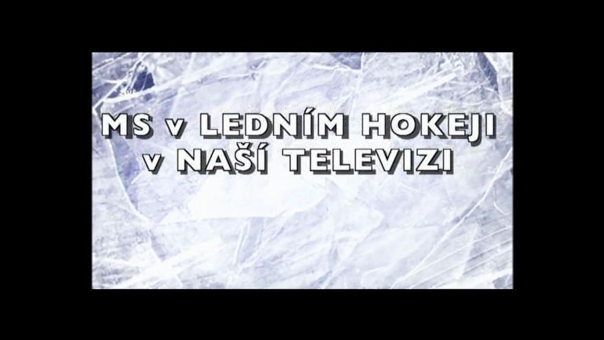 Video Historie MS v České televizi