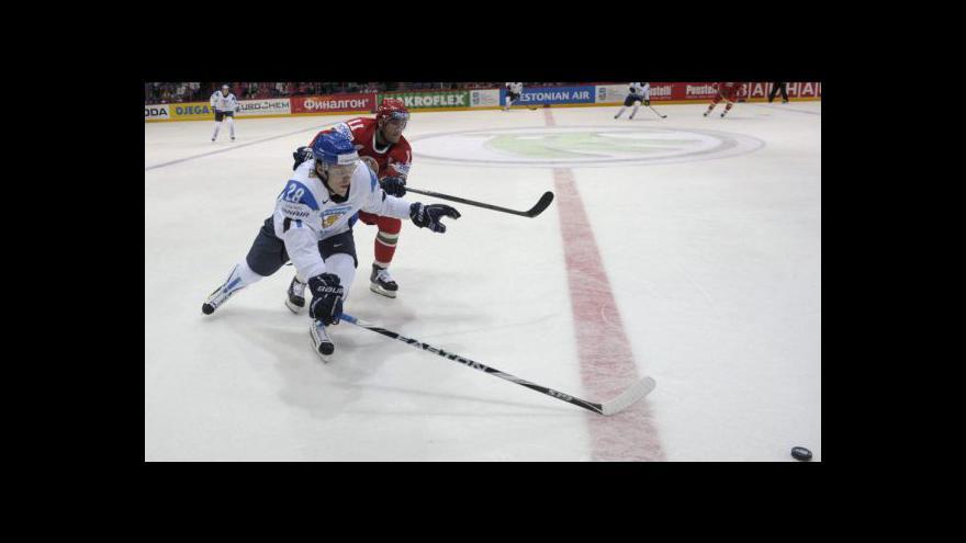 Video Jediný gól utkání Finsko - Bělorusko