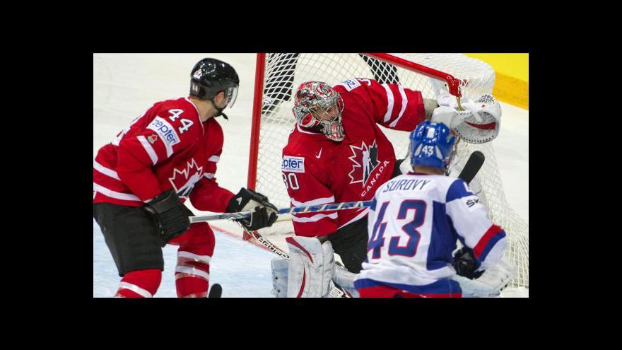 Video Sestřih utkání Slovensko - Kanada