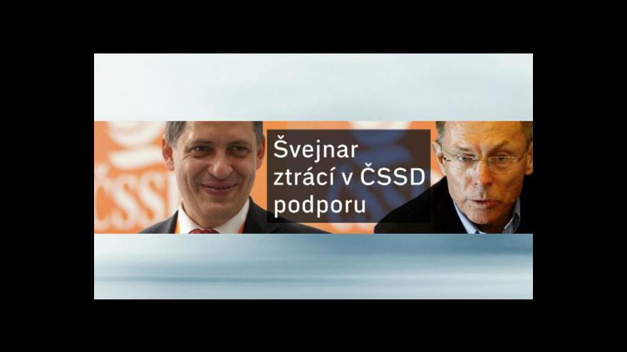 Video ČSSD řeší problém s kandidáty