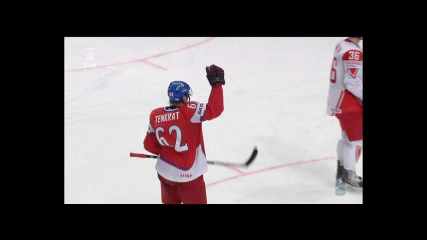 Video Utkání Česko - Dánsko