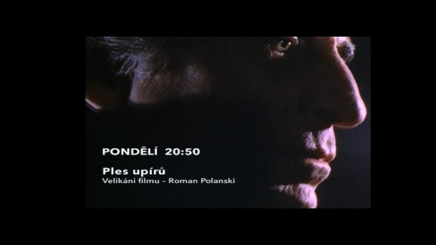Video Ukázka z filmu Ples upírů