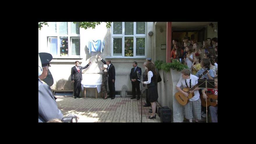 Video Slavnostní odhalení pamětní desky generálovi Františku Fajtlovi
