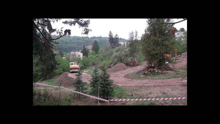 Video NO COMMENT: Stavební práce v Münzově vile