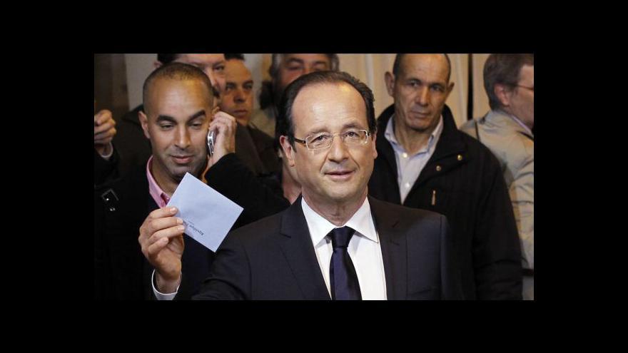 Video Francouzi vybírají prezidenta