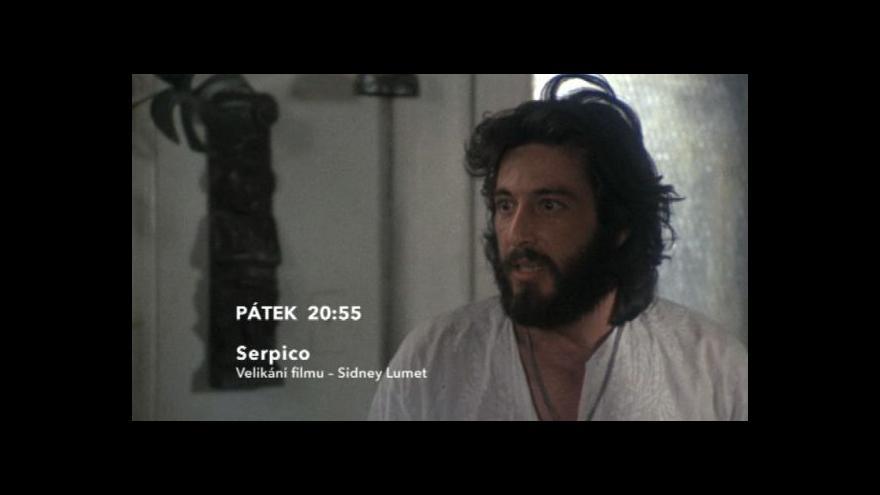 Video Ukázka z filmu Serpico