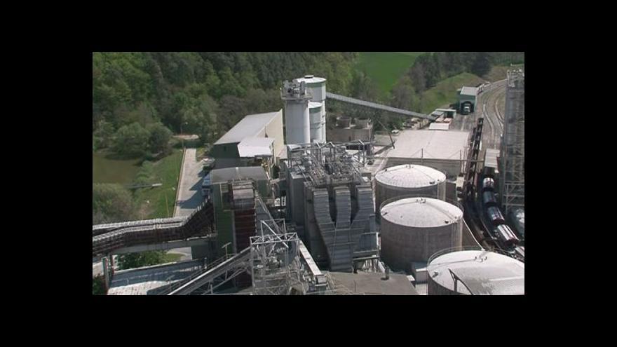 Video Stav životního prostředí cementárny se v poslední době výrazně zlepšil