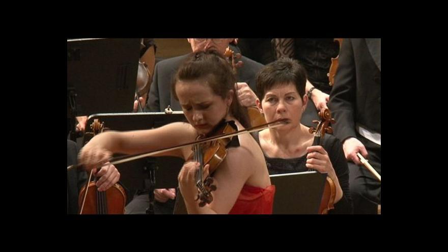 Video NO COMMENT: Vystoupení brněnské filharmonie a německé houslistky