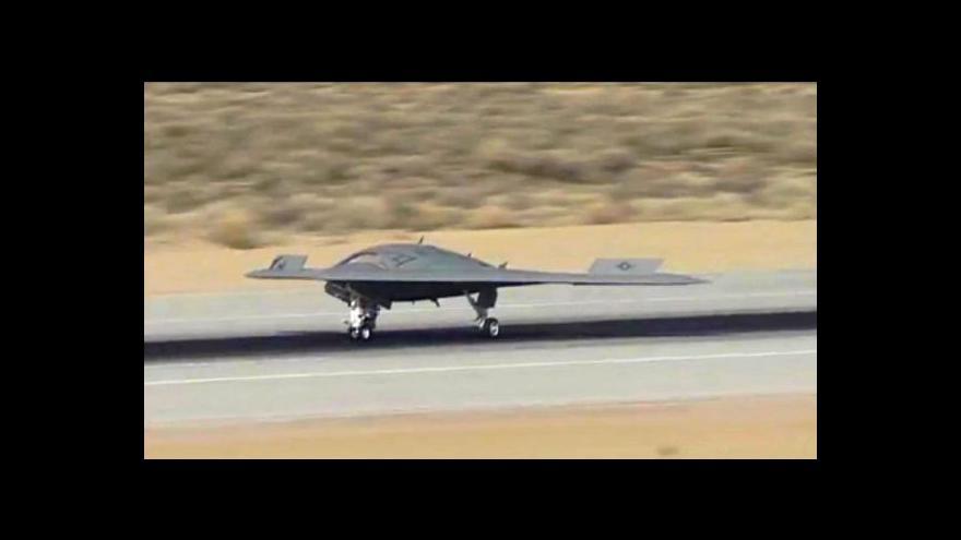Video USA útočí bezpilotními letadly