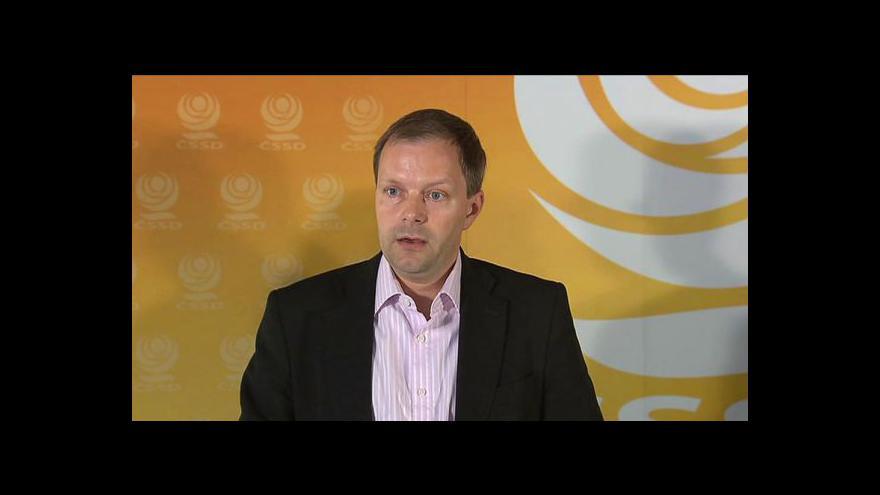 Video Brífink ČSSD o problémech v resortu školství