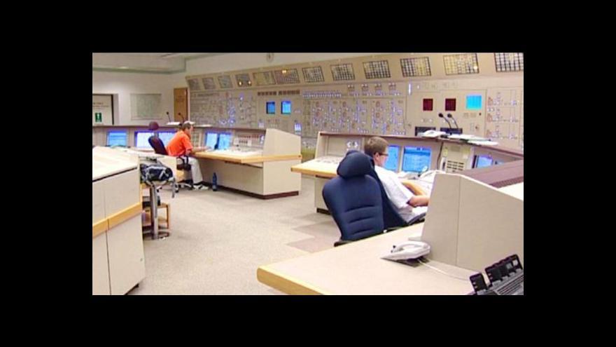 Video Americký ministr energetiky Steven Chu v Praze jednal o Temelínu