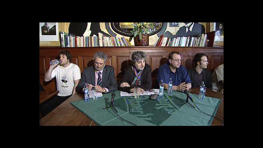 Video Brífink občanské platformy Vraťte nám stát