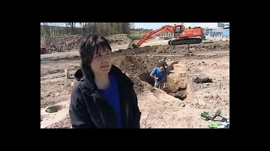 Video O nálezu hovoří archeoložka Blanka Mikulková