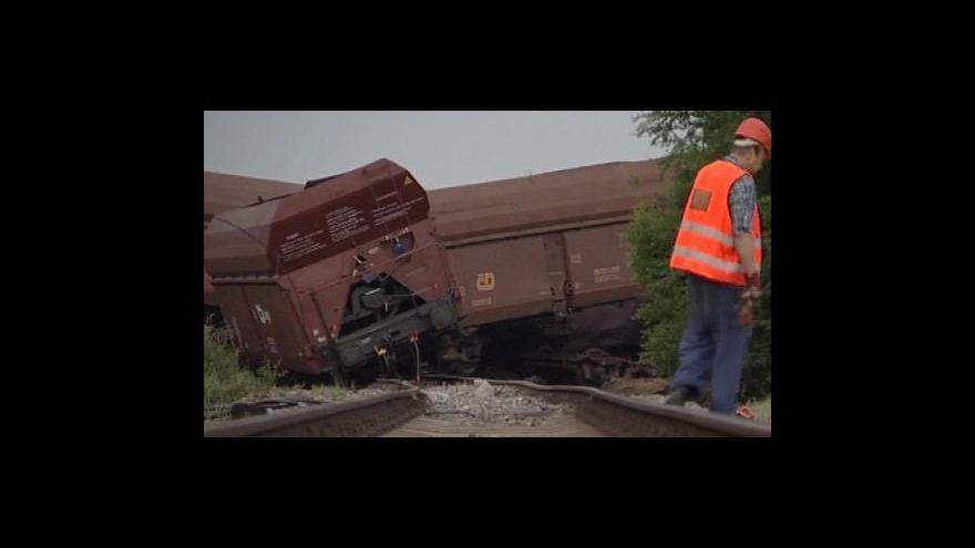 Video NO COMMENT: následky vykolejení vlaku