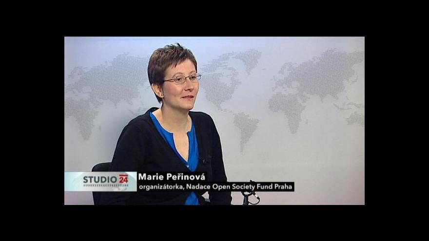 Video Rozhovor s Marií Peřinovou a Lukášem Landou