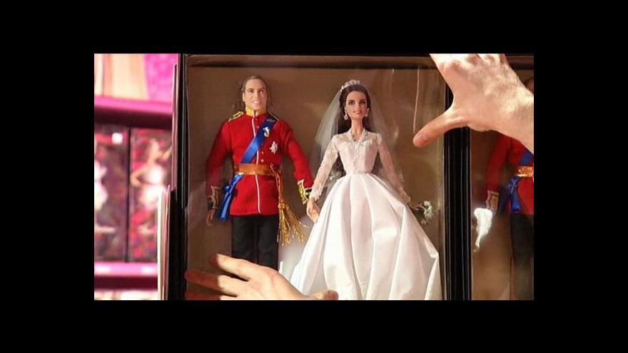 Video Kate a William se jako panenky dobře prodávají