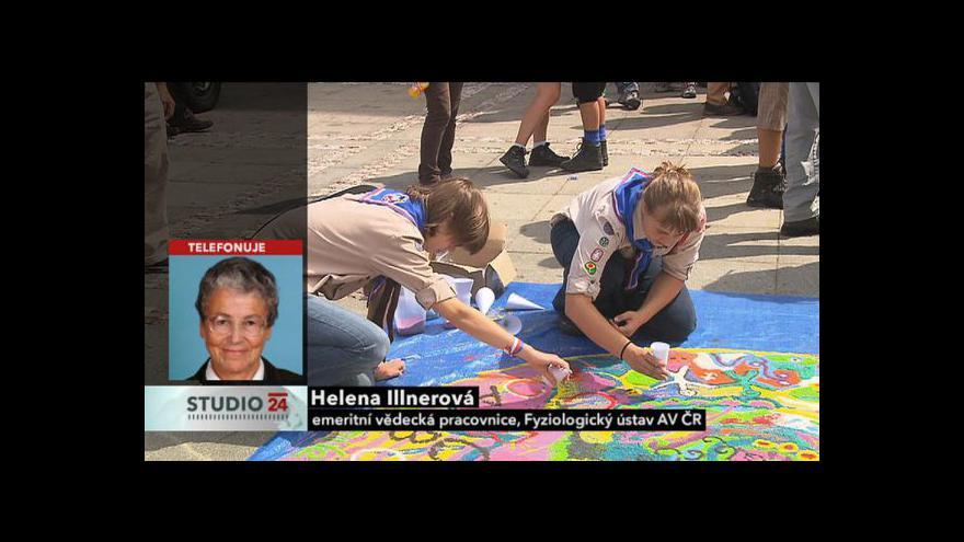 Video Rozhovor s Helenou Illnerovou