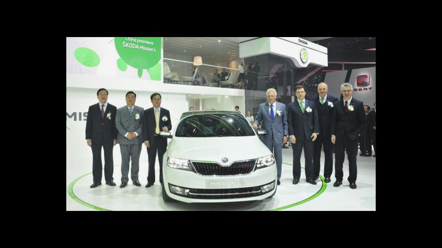 Video Pekingský autosalon