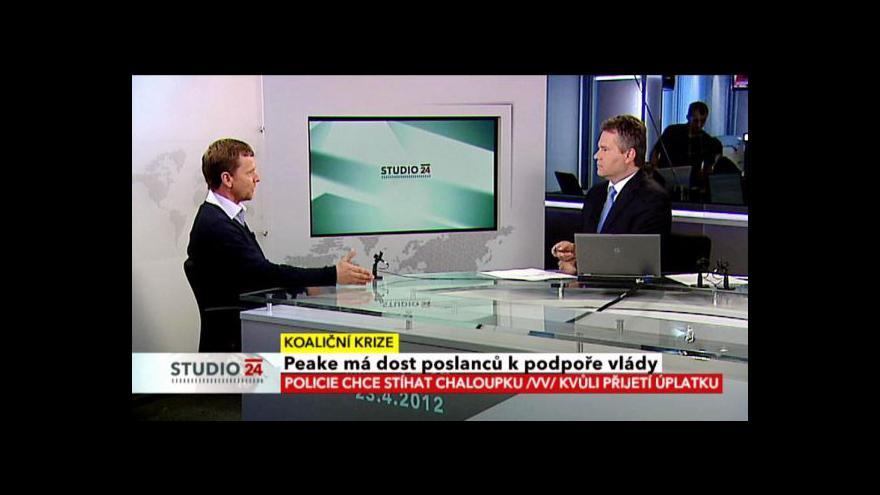 Video Rozhovor s poslancem Michalem Doktorem