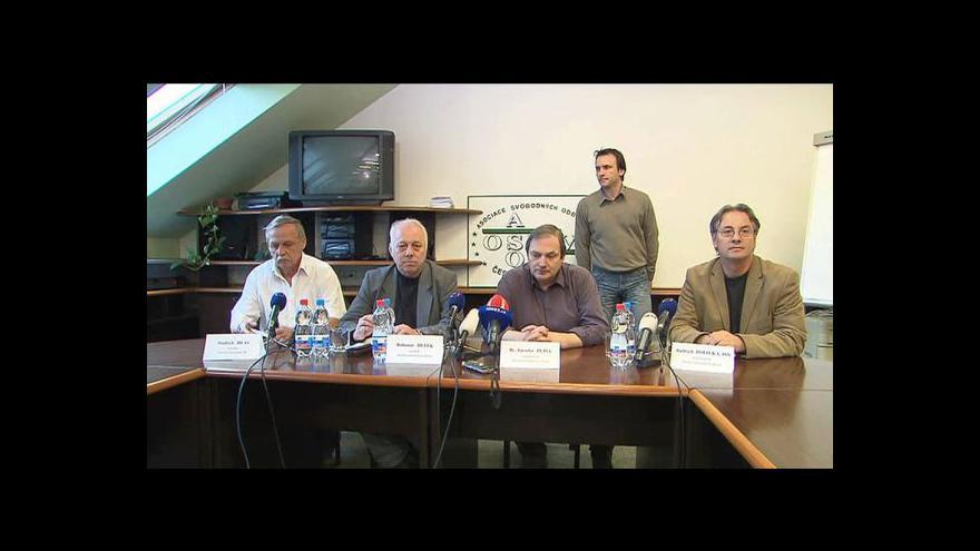 Video Brífink Asociace samostatných odborů
