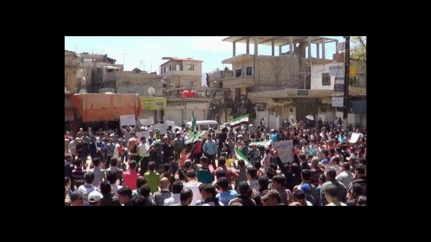 Video Do Sýrie míří pozorovatelé OSN
