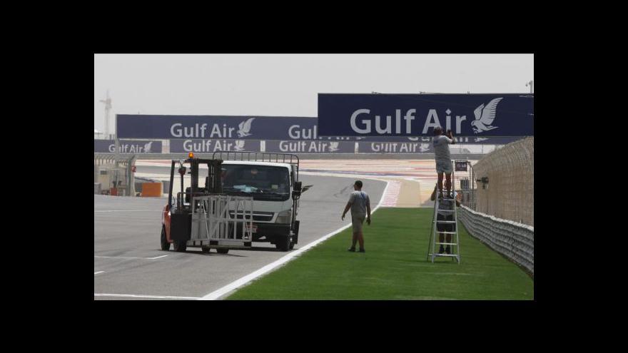 Video Bahrajnem před závodem F1 hýbou protesty