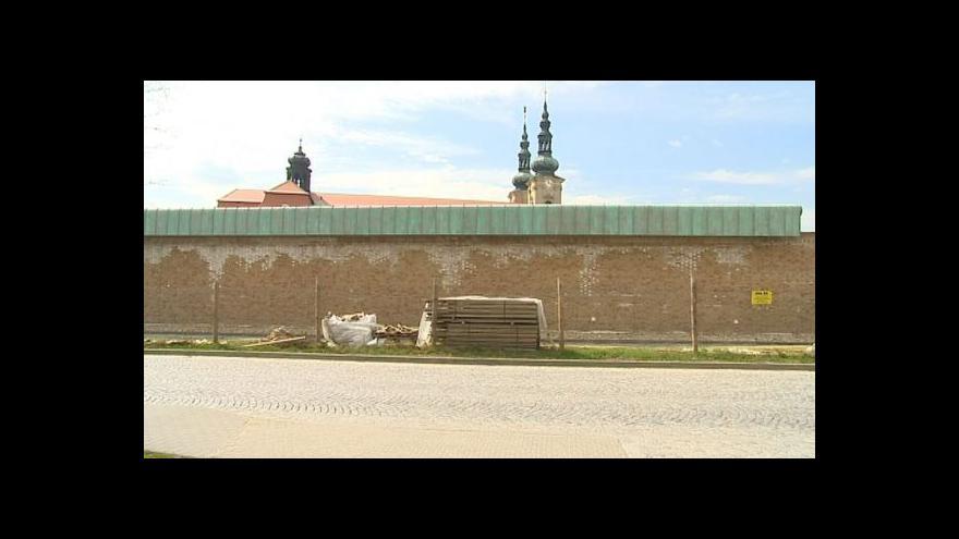 Video Petr Hudec k ohradní zdi velehradské baziliky